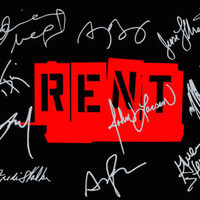 "Rent  5X7"" Logo Photo - Signed By Original Cast"