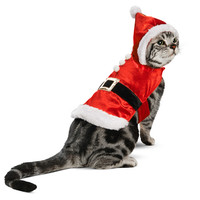 Petco Holiday Santa Coat for Cats