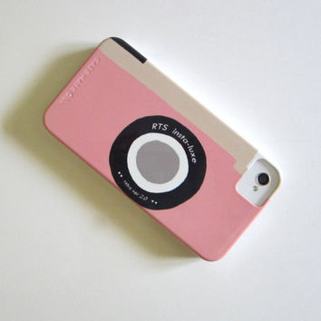 iPhone case Camera Pink Vintage Retro  IPhone 4/4s case Modern Mom redtilestudio