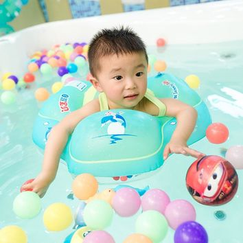 Inflatable Swimming Ring Baby Boy Girl Armpit Floating Circle Bathing Double Raft Rings Pool Infant Kids Swim Accessories