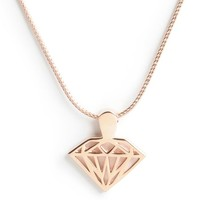 Diamond Supply Co Brilliant Rose Gold Necklace
