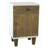 The Urban Port Elegant Home Decor White Cabinet