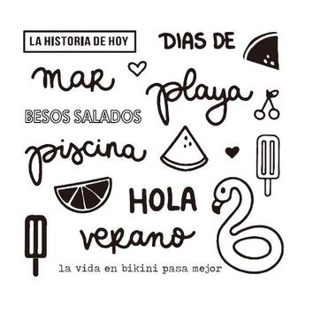 Spanish Transparent Clear Silicone Stamps for DIY Scrapbooking/Card Making/Kids Christmas Fun Decoration Supplies  A1084