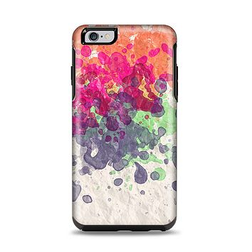 The Vintage WaterColor Droplets Apple iPhone 6 Plus Otterbox Symmetry Case Skin Set