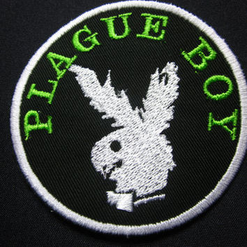 Plague boy Iron/sew on Patch