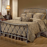 Hillsdale Silverton Bed Set - King - Rails not included