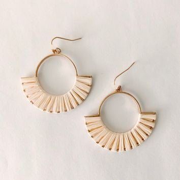 Maylin Woven Earrings