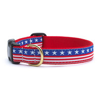 Up Country Stars & Stripes Dog Collar