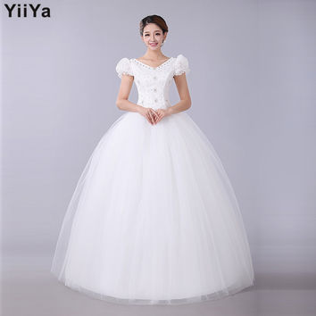 HOT Free shipping  2015 latest chiffon lace designer wedding dress princess bridal veil wedding grown Vestidos De Novia HS030