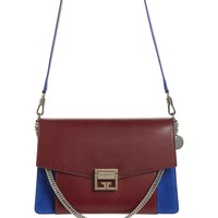 Givenchy Medium GV3 Leather & Suede Handbag | Nordstrom