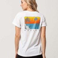 HURLEY Total Womens Tee | Graphic Tees
