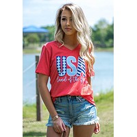 USA Land Of The Free Tee | Calamity Jane