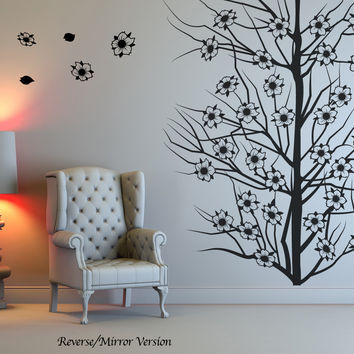 Vinyl Wall Decal Sticker Cherry Blossoms Tree #OS_MB119
