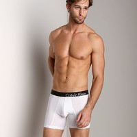 Calvin Klein Bold Cotton Boxer Brief White U8904-100 at International Jock Underwear & Swimwear