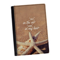 Salt in the Air Sand in my Hair High Quality PU Faux Leather Passport Cover by UltraCases