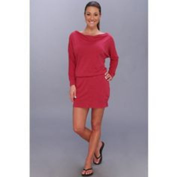 Beyond Yoga Womens 3/4 Dolman Sleeve Mini Pink Above The Knee Dress Size XS