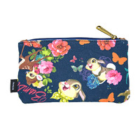 Disney Classic Bambi Floral Cosmetic Pouch