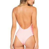 Lolli Swim Pink Barbie One Piece