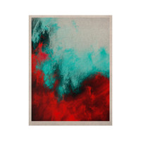 """Caleb Troy """"Painted Clouds III"""" KESS Naturals Canvas (Frame not Included)"""