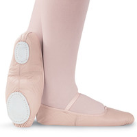 Split-Sole Leather Ballet Shoe; Capezio