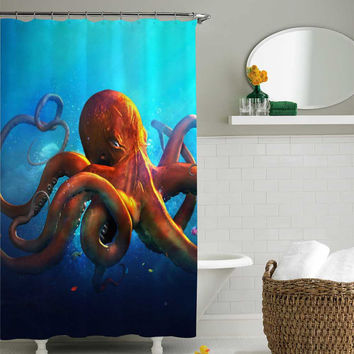 Retro Star Wars shower curtain,shower from sarbotexas on Etsy