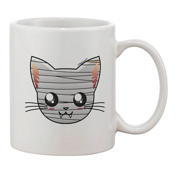 Mummy Kitty Printed 11oz Coffee Mug by TooLoud