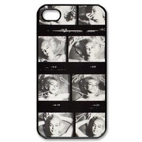 Marilyn Monroe Carrying Case for iPhone 4 4s, Nostalgic style