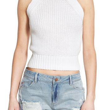 Chloe K High Neck Sweater Tank | Nordstrom