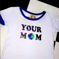 SWEET LORD O'MIGHTY! YOUR MOM RINGER TEE