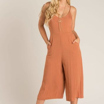 Tasha Rust Jumpsuit