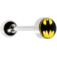 Licensed Batman Barbell Tongue Ring | Body Candy Body Jewelry