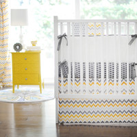 New Arrivals Mellow Yellow Baby Bedding