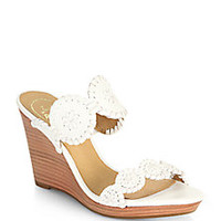 Jack Rogers - Luccia Wedge Sandals - Saks Fifth Avenue Mobile