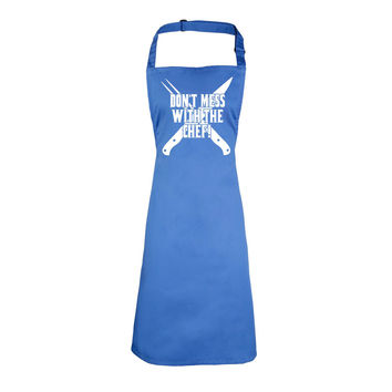 123t USA Don't Mess With The Chef Funny Apron