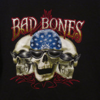 Bad Bones T-Shirt Size XL