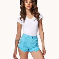 Secret Rebel Denim Shorts