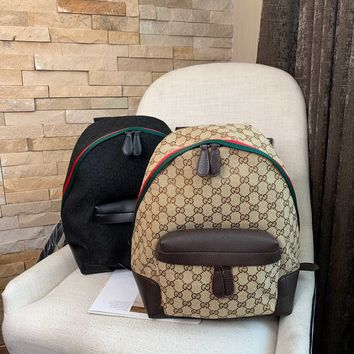 HCXX 19Oct 077 Gucci Classic Fashion Handle Backpack 26-12-32cm