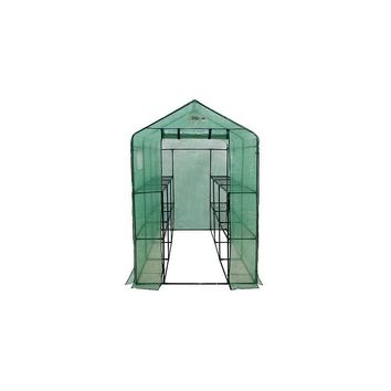 OGrow 4 Ft. W x 8 Ft. D Plastic Greenhouse