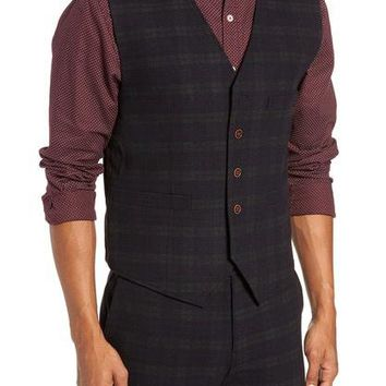Albert Vest in Plaid Midnight