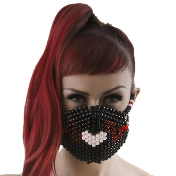 Heart Beats Kandi Mask