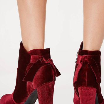 Crush on You Velvet Booties FINAL SALE!