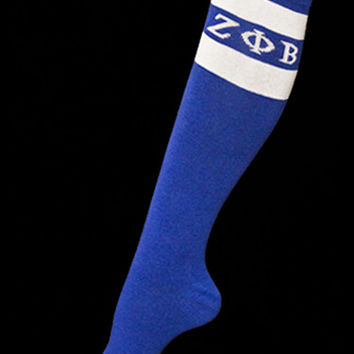 Zeta Phi Beta Knee High Socks