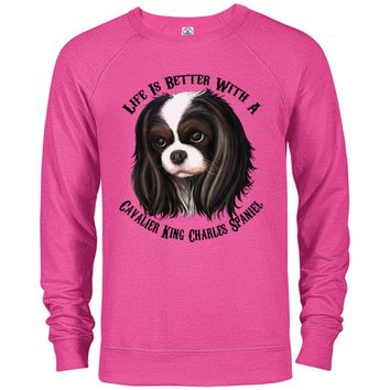 Cavalier King Charles Spaniel Sweater Life Is Better With  A Cavalier