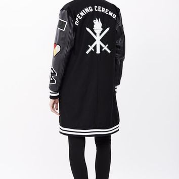Opening Ceremony OC-Exclusive Varsity Long Jacket - MEN - OPENING CEREMONY