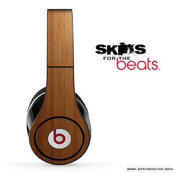 Straight Wood Skin for the Beats by Dre