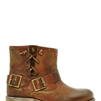 Jeffrey Campbell 1949 Moto Boot - Brown