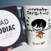 Bad Zodiac Mug / Cancer Zodiac Mug / Funny Mug