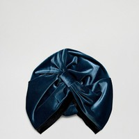 ASOS Knot Front Hat With Contrast Band at asos.com