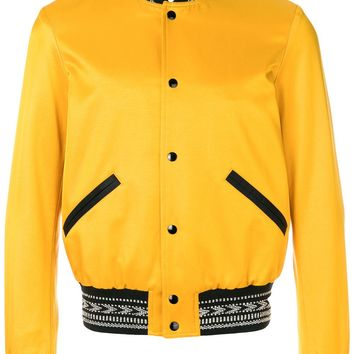 Bumble Bee Bomber Jacket by Saint Laurent