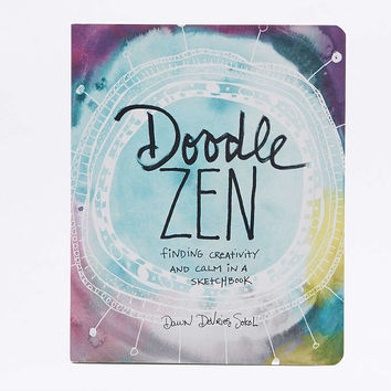 Doodle Zen Book - Urban Outfitters